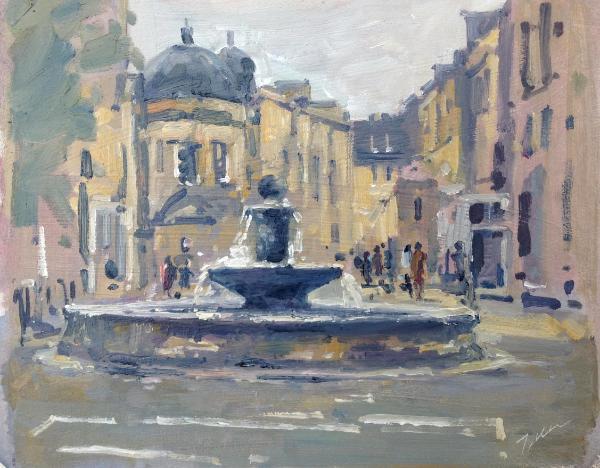 Great Pulteney street fountain