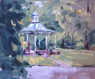 The Bandstand in May, Swindon Old Town Gardens