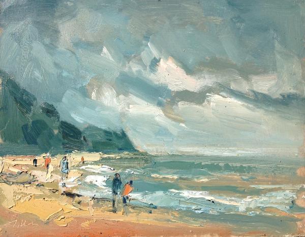 Charmouth beach,