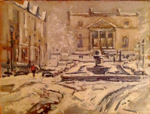 Great Pulteney street winter