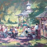 Swindon Old Town Gardens Cafe and Bandstand