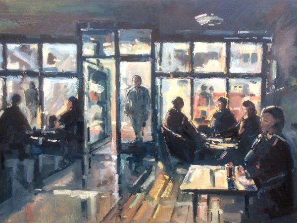 Coffee one interior