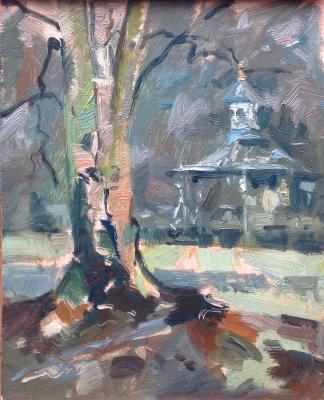 Swindon Old Town Gardens, January greys.